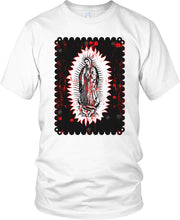 MILLIONAIRE MENTALITY VIRGIN MARY WHITE T-SHIRT (LIMITED EDITION)