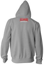VALLEJO VJO 707 GREY, RED & WHITE HOODIE (NEW)