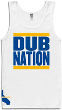 DUB NATION WHITE TANK TOP (LIMITED EDITION) GOLDEN STATE WARRIORS EDITION