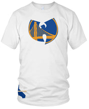 DUB NATION WU TANG WHITE T-SHIRT (LIMITED EDITION) GOLDEN STATE WARRIORS EDITION