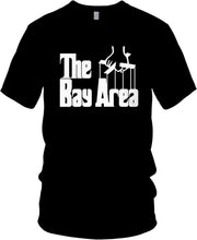 THE BAY AREA GODFATHER BLACK T-SHIRT (LIMITED EDITION)