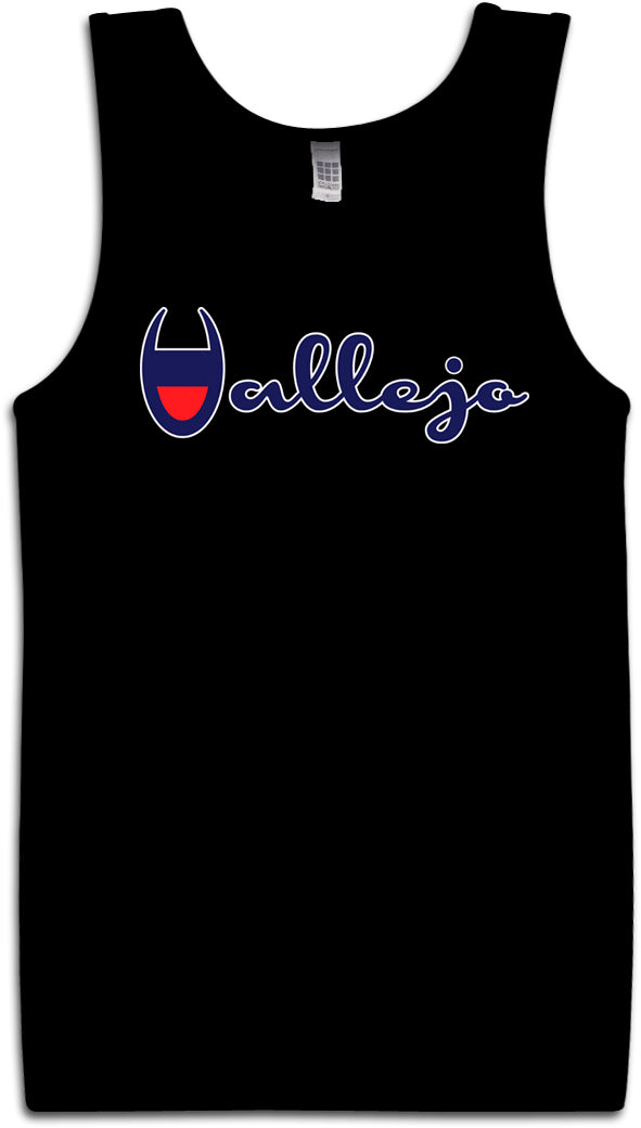 VALLEJO CHAMPION BLACK TANK TOP (LIMITED EDITION)
