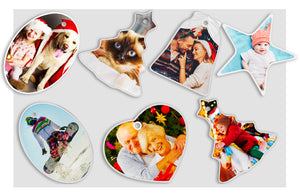 Photo Ornaments x10