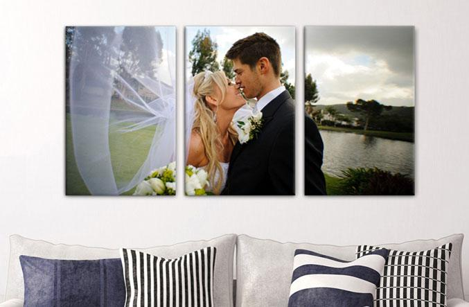 "16"" x 20"" Photo Canvas x 3