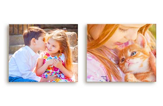 "2 Photo Canvases - 12"" X 10""
