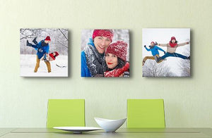 "8"" x 8"" Photo Canvas x 3
