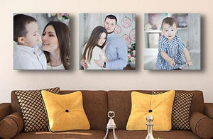 "12"" x 12"" Photo Canvas x 3