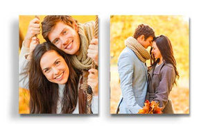 "8"" x 10"" - 2 Photo Canvases