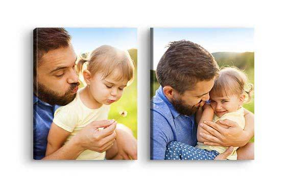 "11"" x 14"" - 2 Photo Canvases