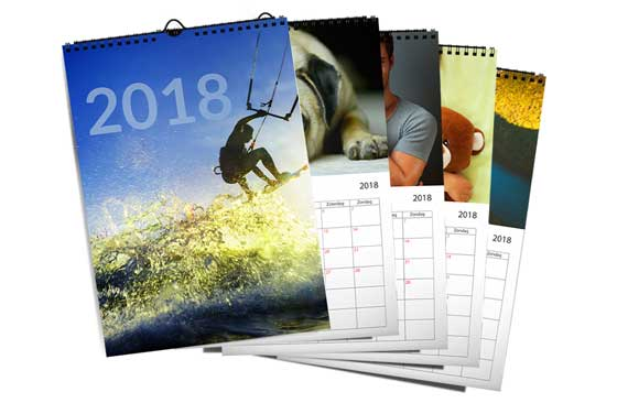 A4 - 5 Wall Calendars|66|reloaded