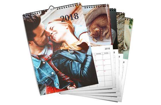 "11.7"" x 16.5"" - 5 Wall Calendars