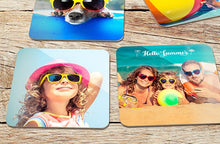 Load image into Gallery viewer, Photo Coasters x4