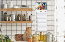 Load image into Gallery viewer, Kitchen Calendar