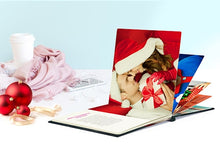 Load image into Gallery viewer, Layflat Leather Cover Photo Book