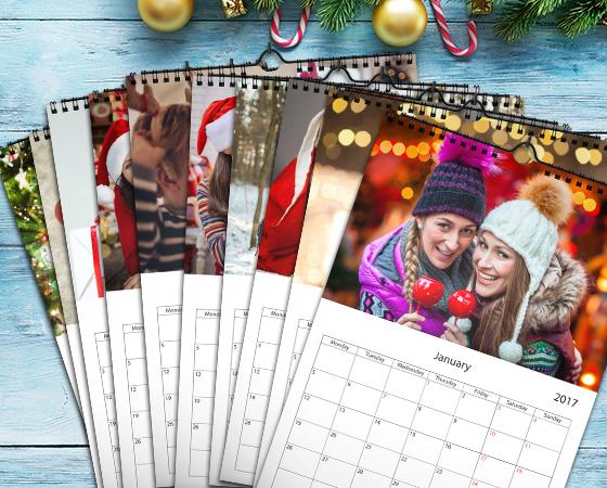"11.7"" x 16.5"" - 10 Wall Calendars
