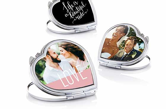 Personalised Compact Mirror|20|Valentine's Day