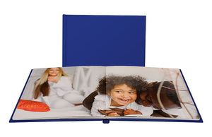 Layflat Leather Cover Photo Book