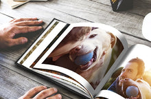 Load image into Gallery viewer, Leather Photo Book