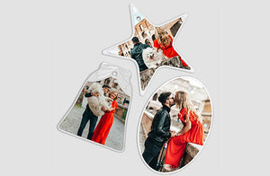 Photo Ornaments x5