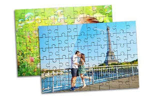 "2 x Wooden Jigsaw Puzzle- 5""x7""