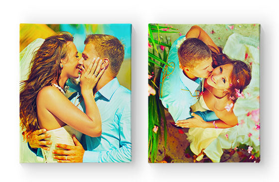 "2 Photo Canvases - 16"" x 20""