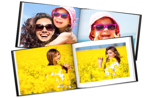 2 Livre photo en cuir A4 100 pagines