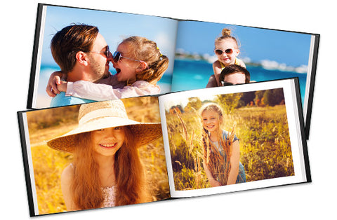 2 Livre photo en cuir A4 40 pagines