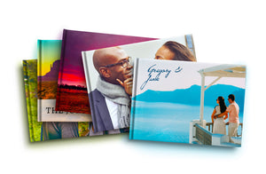 Livres photo couverture rigide x5