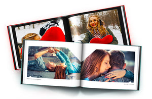 Livre photo couverture rigide x2