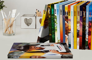 Livres photo couverture rigide x2