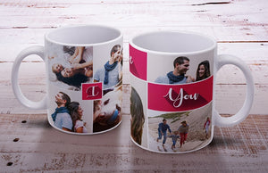 Mugs photo Collage x4