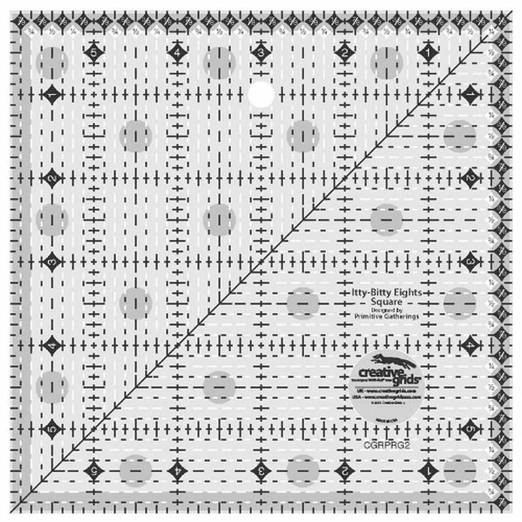 Creative Grids Itty-Bitty Eights Square Ruler 6 \