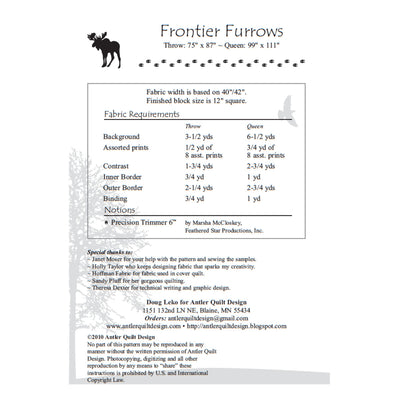 Frontier Furrows