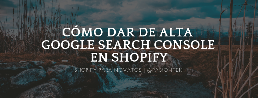 Como conectar Google Search Console a Shopify