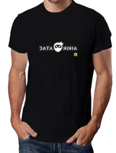 Moda Geek - Camisetas Originales Data Science - Data Scientist Ninja 1 Negra - pasionteki.com