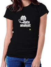 Moda Geek - Camisetas Originales Data Science - Data Scientist Einstein 2 Negra - pasionteki.com