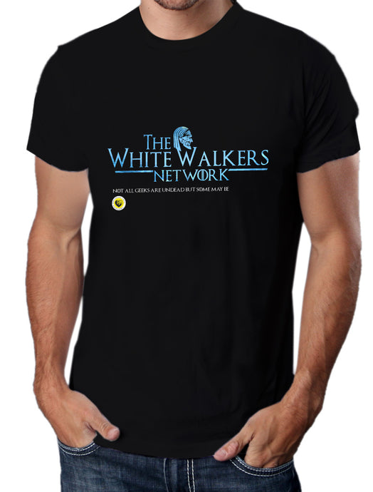 Moda Geek - Camisetas Originales - GEEK GAME OF THRONES - White Walkers - pasionteki.com
