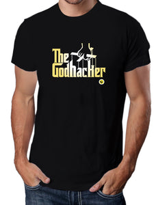 Moda Geek - Camisetas Originales Growth Hacking -  Modelo Godfather - pasionteki.com