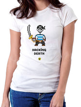 Moda Geek - Camisetas Originales Hacking Death - Growth Hacker - pasionteki.com