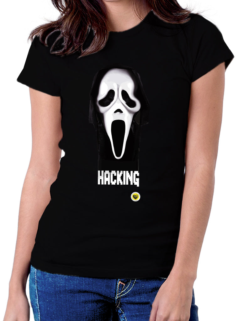 Moda Geek - Camisetas Originales Hacking Scream - Growth Hacker - pasionteki.com