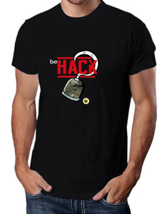 Moda Geek - Camisetas Originales  Be Hack - Growth Hacker - pasionteki.com