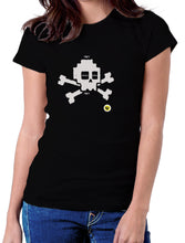 Moda Geek - Camisetas Originales Hacking Calavera Hack - Growth Hacker - pasionteki.com