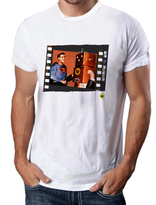 Moda Geek - Camisetas Originales - superman y robot
