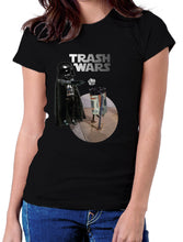 Moda Geek - Camisetas Originales - TRASH WARS - darth vader