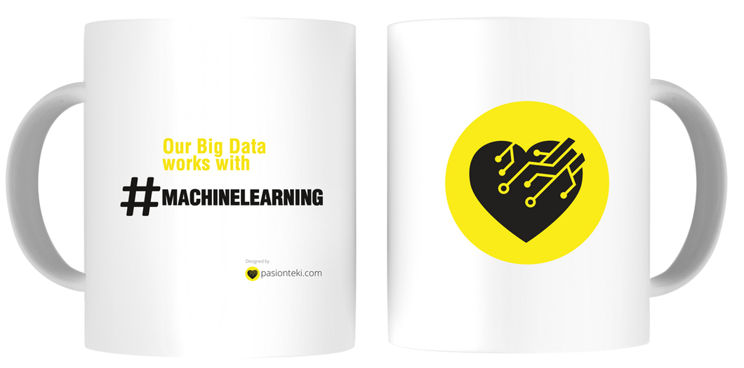 Tazas Personalizadas Hashtag Big Data-Machine Learning - pasionteki.com
