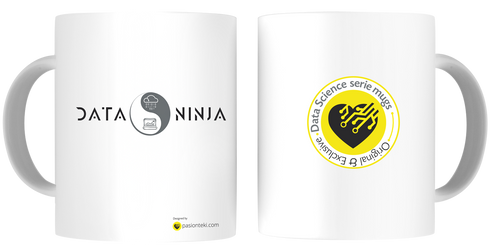 Tazas Personalizadas Data Science - Modelo Data Ninja 2 - pasionteki.com
