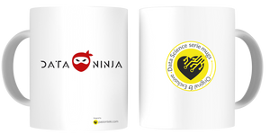 Tazas Personalizadas Data Science - Modelo Data Ninja 1 - pasionteki.com