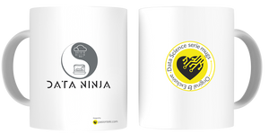 Tazas Personalizadas Data Science - Modelo Data Ninja 4 - pasionteki.com