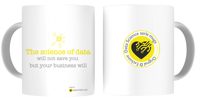 Tazas Personalizadas Data Science - Modelo Science of Data - pasionteki.com