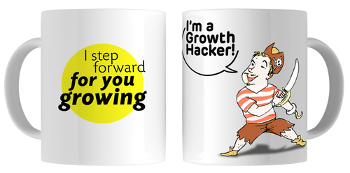 Tazas Originales Growth Hacking - Modelo Pirata 2